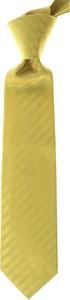 Żółty krawat Isaia