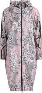 Różowa kurtka Adidas w stylu casual