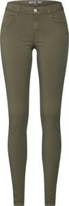 Zielone spodnie Noisy May z bawełny