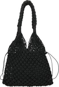 Czarna torebka NOBO w wakacyjnym stylu