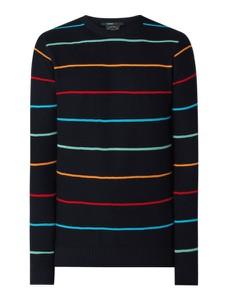 Granatowy sweter Paul & Shark w młodzieżowym stylu