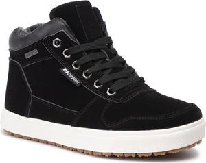 Sneakersy Big Star sznurowane na platformie