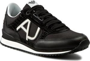 Sneakersy ARMANI JEANS – C6512 48 12 Black
