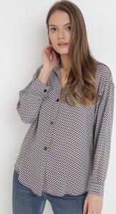Granatowa koszula born2be