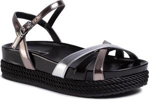 Srebrne sandały Liu-Jo