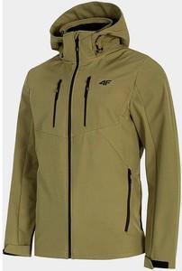 Zielona kurtka 4F w sportowym stylu