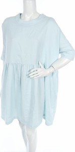 Miętowa sukienka Mimu Maxi mini