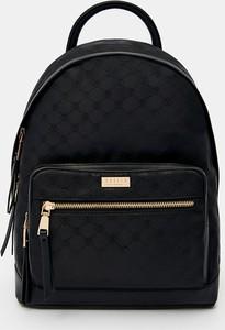 Czarny plecak Mohito ze skóry