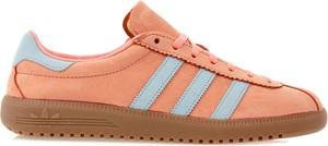 Buty sportowe Adidas z nubuku
