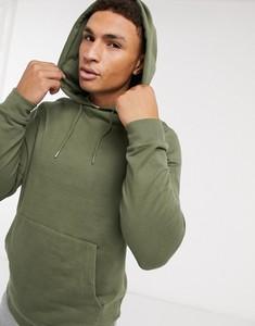 Zielona bluza Asos z bawełny w młodzieżowym stylu