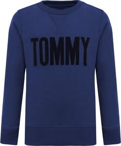 Bluza dziecięca Tommy Hilfiger z bawełny