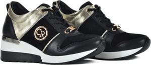 Czarne buty sportowe Claudio Rosetti