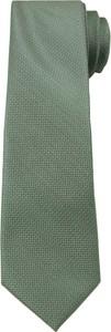 Zielony krawat Angelo Di Monti