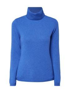 Niebieski sweter Christian Berg Women z kaszmiru