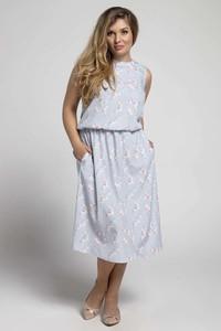 Sukienka Nommo bez rękawów midi