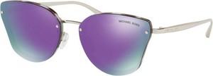 Fioletowe okulary damskie Michael Kors
