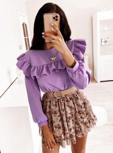 Bluzka Pakuten z krótkim rękawem w młodzieżowym stylu