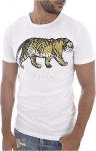 T-shirt Goldenim Paris z krótkim rękawem z bawełny z nadrukiem