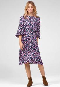 Sukienka ORSAY midi z długim rękawem