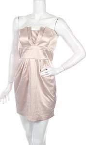 Różowa sukienka Jane Norman mini bez rękawów