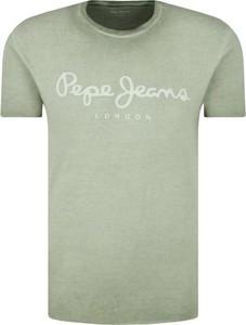 T-shirt Pepe Jeans z krótkim rękawem w młodzieżowym stylu