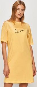 Sukienka Nike Sportswear mini z dzianiny z krótkim rękawem