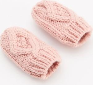 Różowe rękawiczki Reserved dla dziewczynek