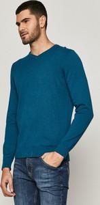 Turkusowy sweter Medicine