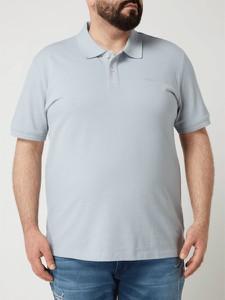 Koszulka polo S.oliver Plus z krótkim rękawem w stylu casual