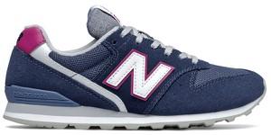 Buty sportowe New Balance sznurowane z płaską podeszwą z zamszu