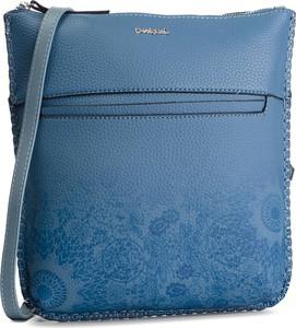 Błękitna torebka Desigual w młodzieżowym stylu