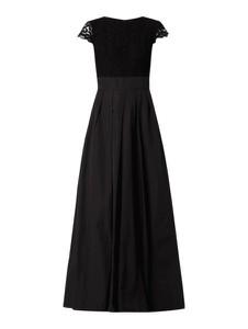 Sukienka Ralph Lauren z bawełny z krótkim rękawem z okrągłym dekoltem
