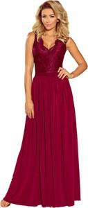 Czerwona sukienka NUMOCO maxi
