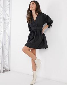 Czarna sukienka Asos koszulowa