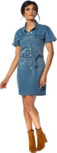 Sukienka Special Jeans mini w stylu casual