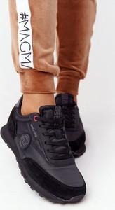 Czarne buty sportowe Big Star z płaską podeszwą