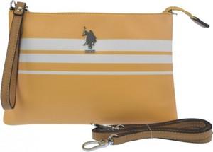 Żółta torebka U.S. Polo mała
