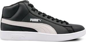 Czarne trampki Puma sznurowane w sportowym stylu