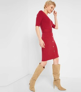 Czerwona sukienka ORSAY ołówkowa