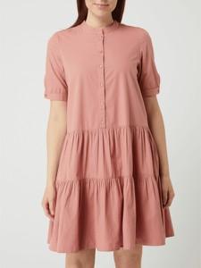 Sukienka Vero Moda z bawełny z krótkim rękawem oversize
