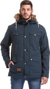 Niebieska kurtka Meatfly w stylu casual