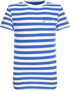 Koszulka dziecięca Tommy Hilfiger z bawełny z krótkim rękawem
