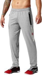 Spodnie sportowe Reebok ze skóry