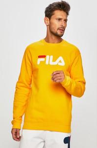 Żółta bluza Fila z dzianiny