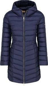 Niebieski płaszcz Liu-Jo w stylu casual