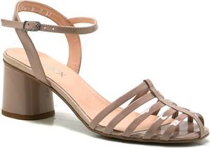 Sandały Ann-Mex z klamrami