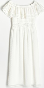 Sukienka Reserved z okrągłym dekoltem