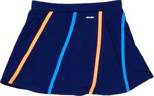 Niebieska spódniczka dziewczęca Adidas Performance z tkaniny