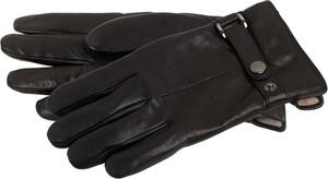 Czarne rękawiczki Markberg