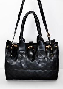 Czarna torebka Zoio średnia do ręki